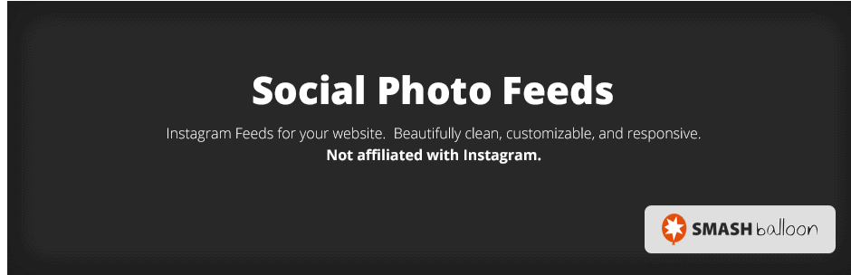 Social Photo Feeds Logo