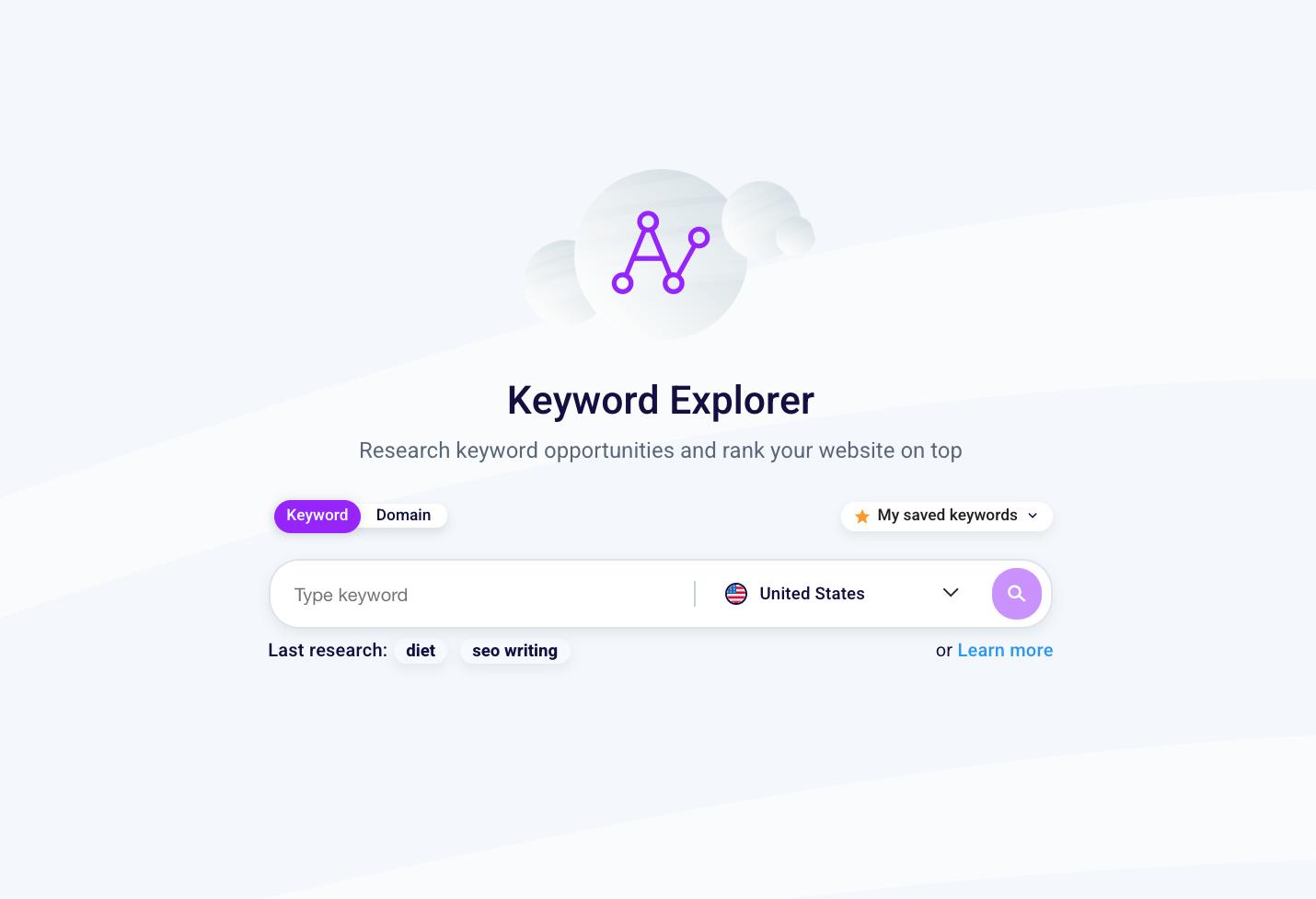 Keyword Explorer Tool