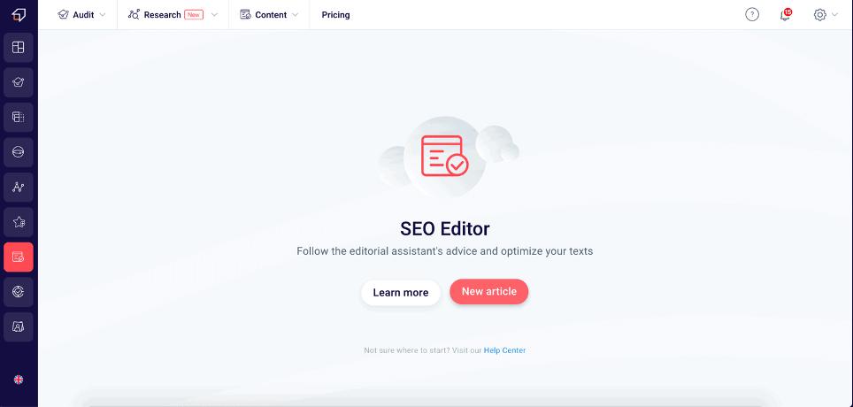 SEO Editor